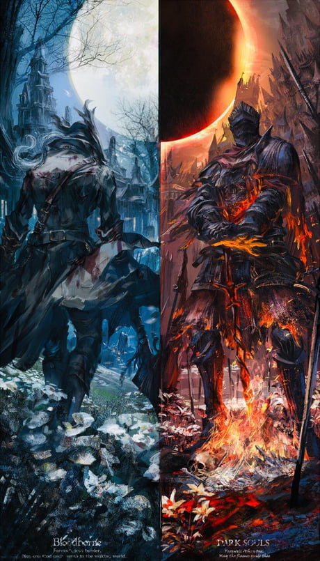 Bloodborne Dark Souls By Stu Dts 9gag