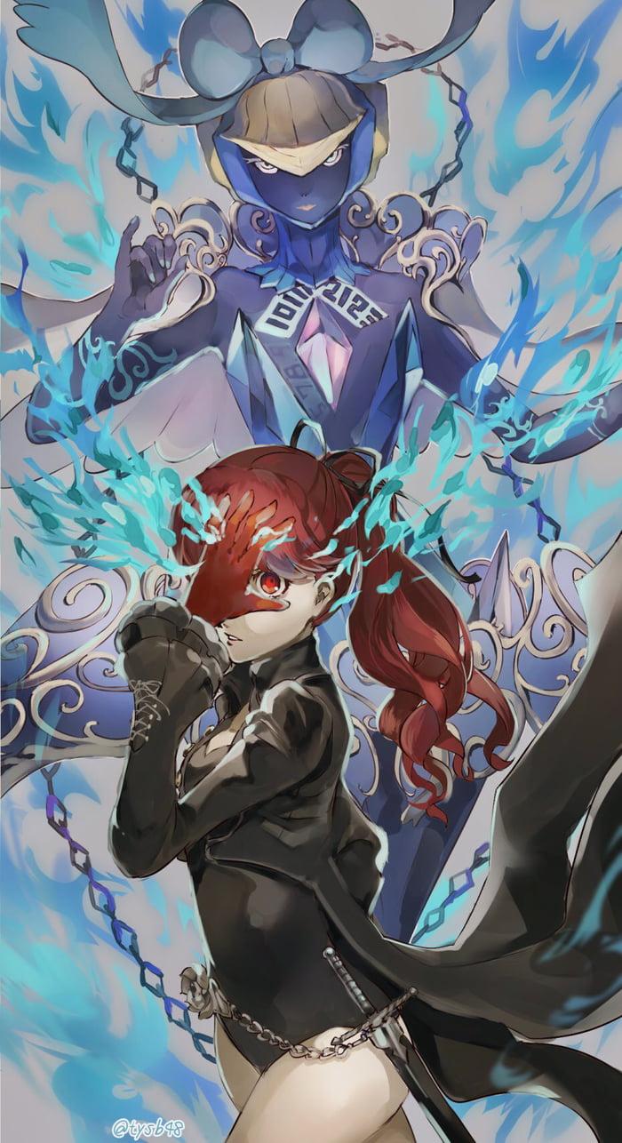 Persona 5 Royal - Kasumi and her Persona - 9GAG