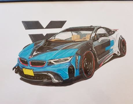 Bmw I8 Widebody Hope You Like It 9gag