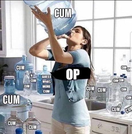 Give Me Your Best Op Drinks Cum Loves Pener 9gag