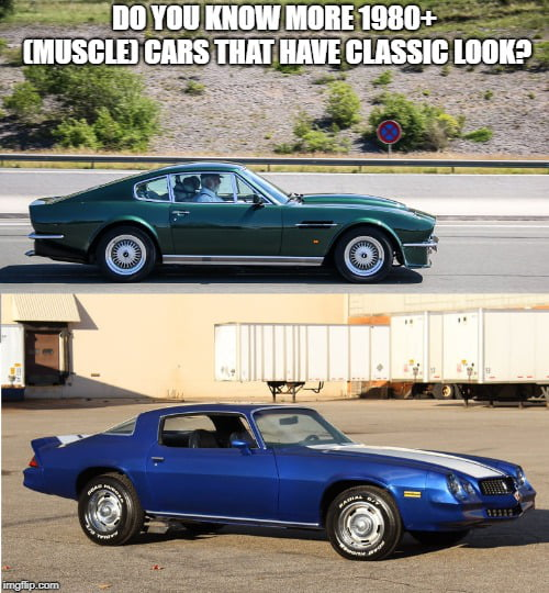 Modern Car With Classic Looks 9gag