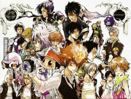 Katekyo Hitman Reborn One Of The Best Mafia Anime 9gag