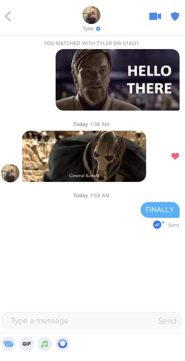 Hello There General Kenobi Gif