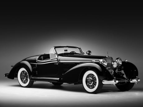 11 1936 Mercedes Benz 540K Spezial Roadster