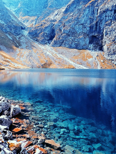The Black Pond, Tatra Mountains, Poland