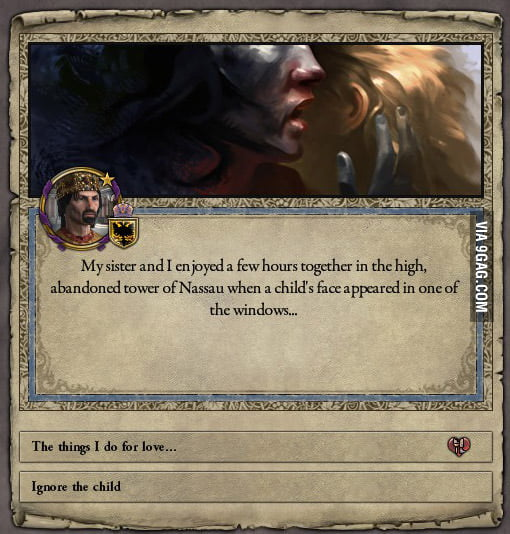 funny game of thrones reference in crusader kings ii