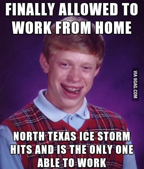 Bad luck is still luck, right?