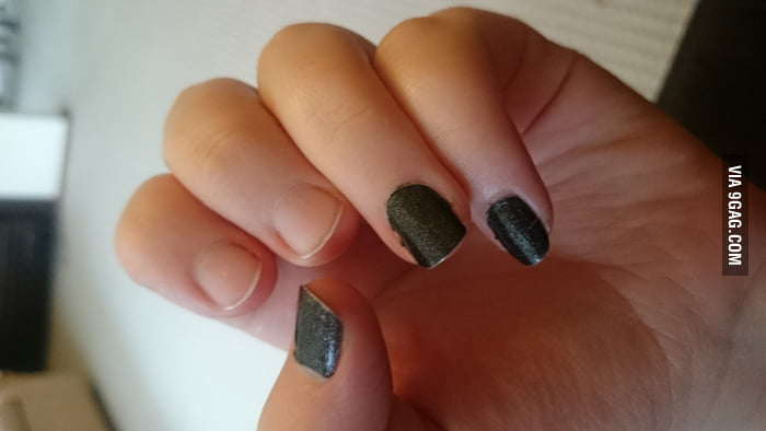 Lesbian nail polish