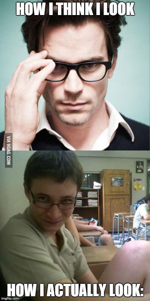 Awkward nerd