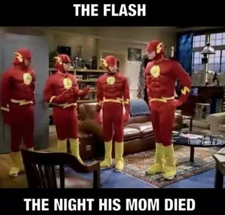 When the big bang theory has explained what's gonna happen with the flash TV series