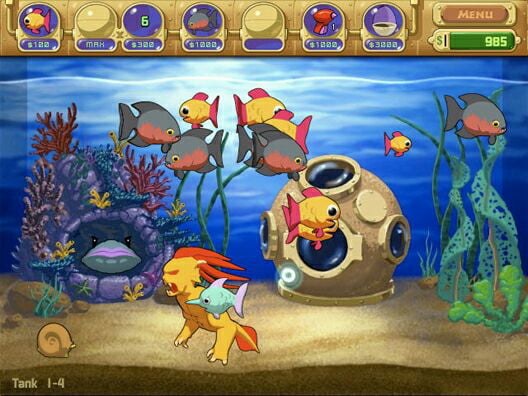 One of my first pc games anybody else remember or is it for Fish aquarium games