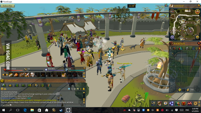 To the guy in Stormwind, this is the Varrock Grand Exchange