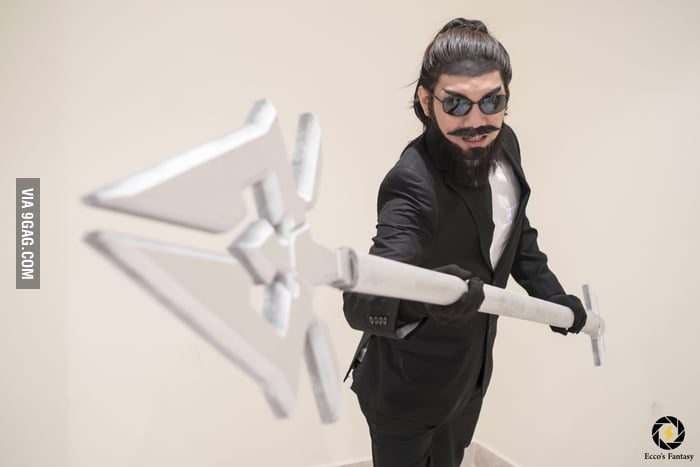My Cosplay of Secret Agent Xin Zhao from League of Legends ...