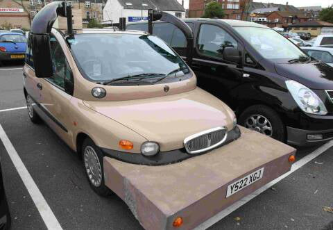 googled fiat multipla tuning i am not disappointed 9gag. Black Bedroom Furniture Sets. Home Design Ideas