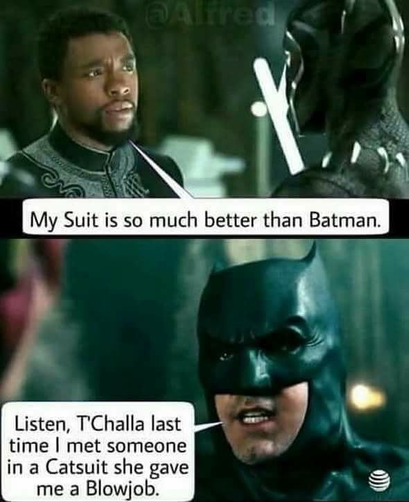 My suit is better