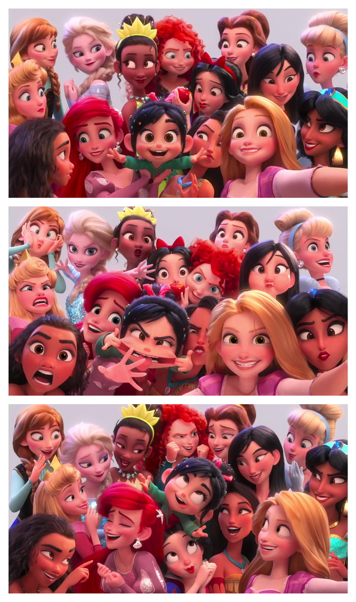 Disney Princesses All Smiles And Photo Xl Ralph Breaks The