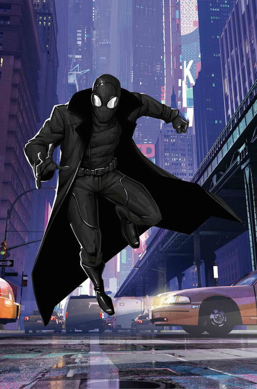 First Look At Spider Man Noir Who Will Be Played By Nic Cage In