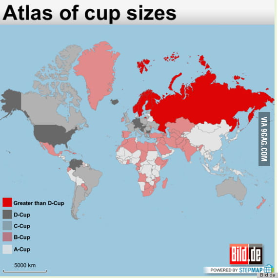 Boob sizes around the world 9gag boob sizes around the world gumiabroncs Choice Image