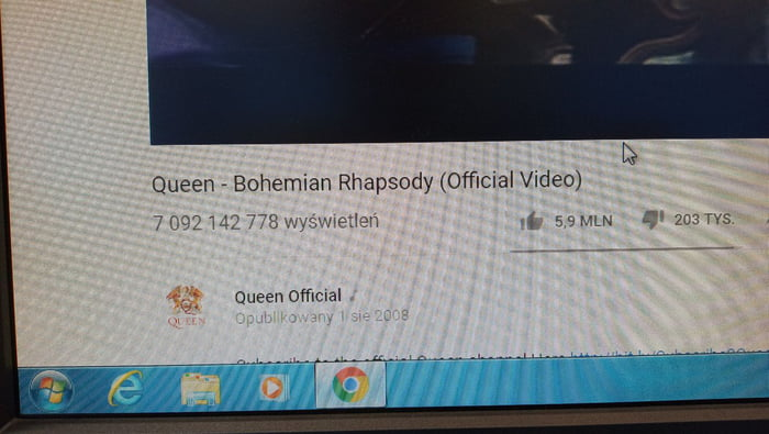It's official bohemian rhapsody is yhr most watched video on YouTube