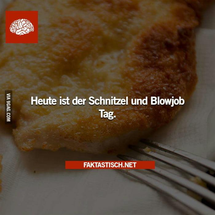 Schnitzel blowjob day