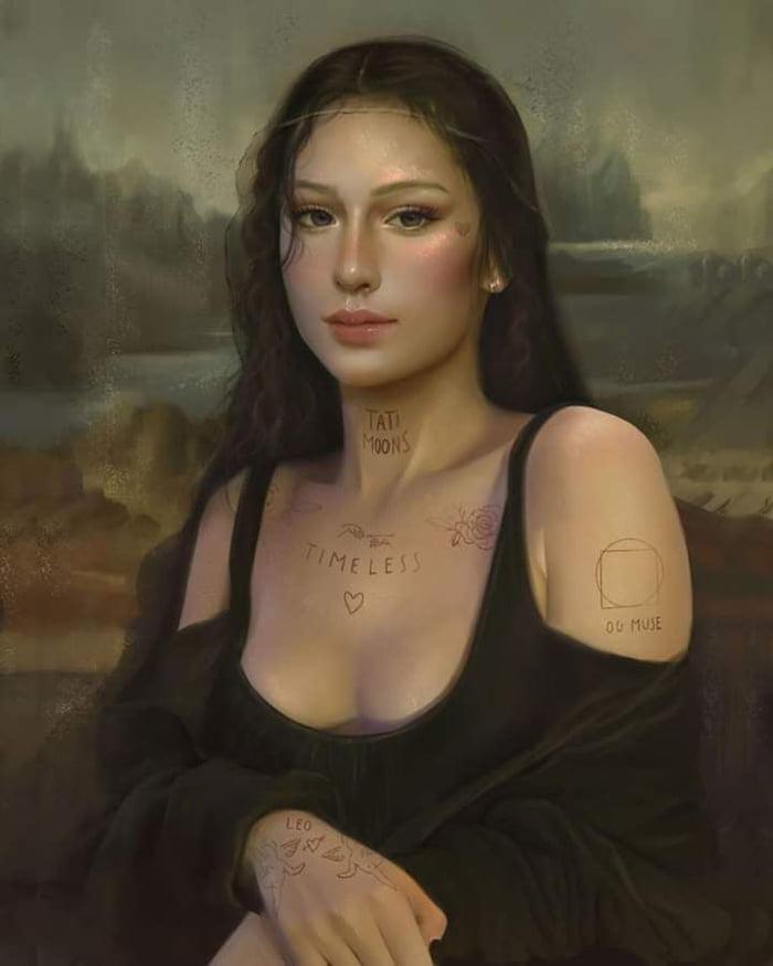 Mona Lisa 2020 - 9GAG