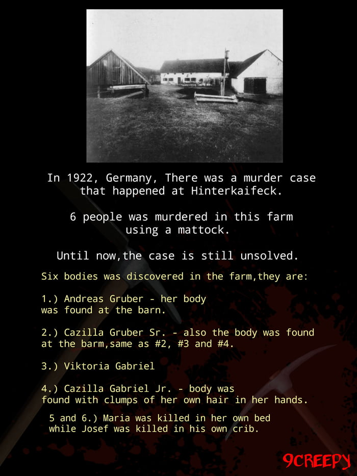 Hinterkaifeck andreas gruber The Unsolved