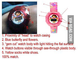 Iron man 3 Dora watch limited edition - 9GAG
