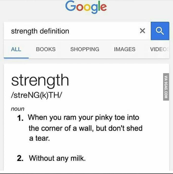 meaning of strength and weakness