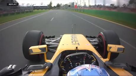 First crash of the F1 2017 season: Jolyon Palmer