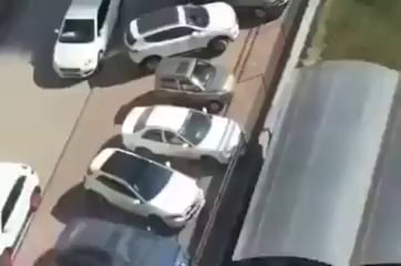 Getting out of a tight parking spot? No problem