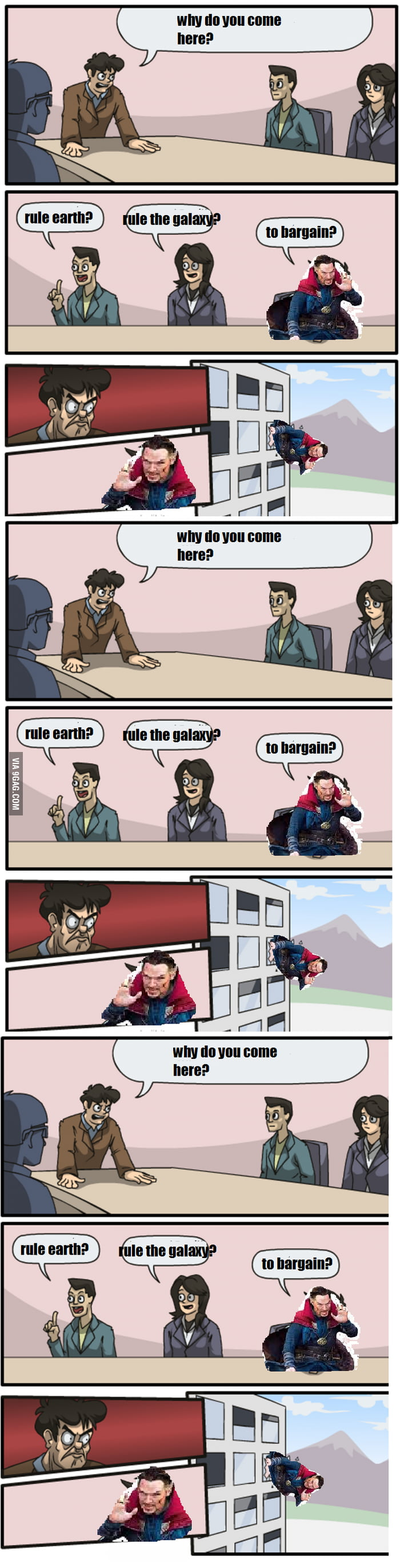Dormammu I Ve Come To Bargain 9gag