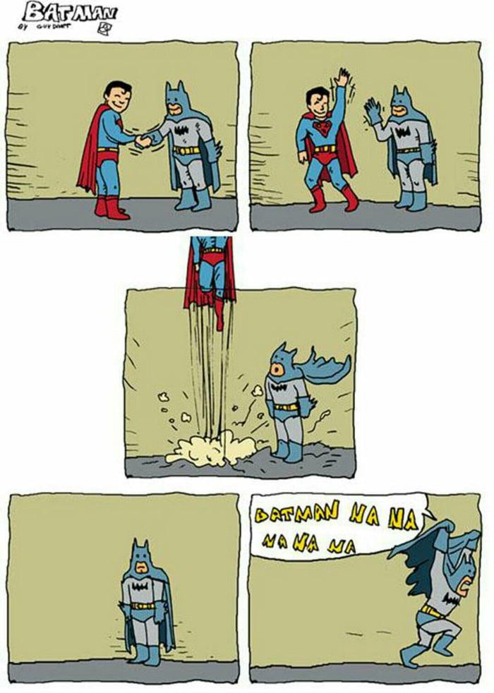 Na na na na na na Batman