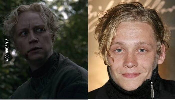 Brienne Of Tarth Looks Like The German Actor Matthias Schweighofer