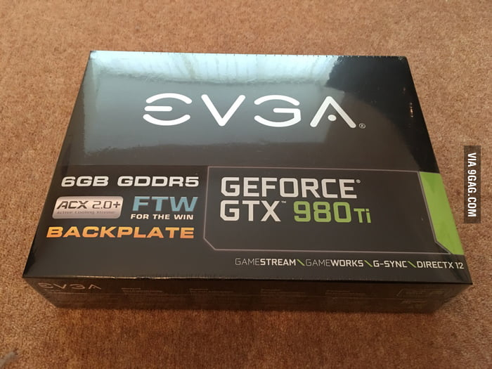 6 months ago i had to sell my graphics card when i lost my job