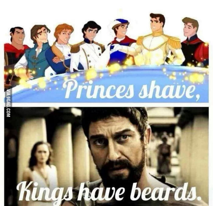 Flynn had a little bit of a facial hair thing, but not a truly sexy beard.