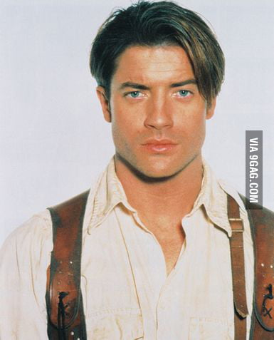 Young Brendan Fraser The Mummy Young Brendan Fraser t...