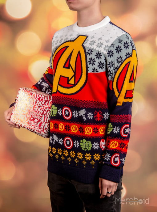 New Marvel Ugly Sweaters Ensure No Civil War At Christmas Dinner 9gag