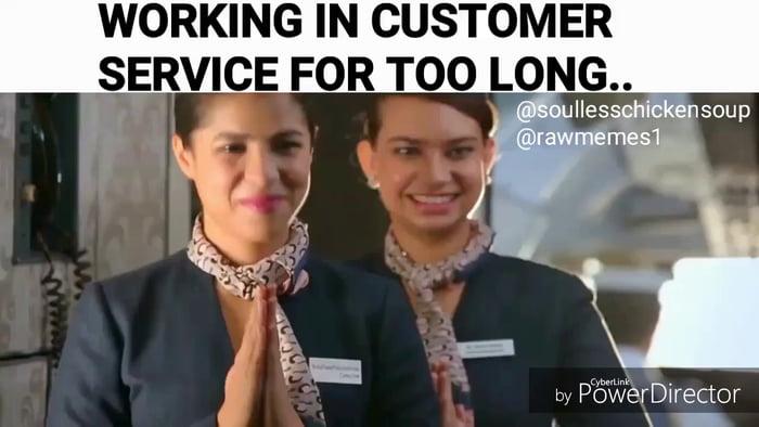 Working Customer Service