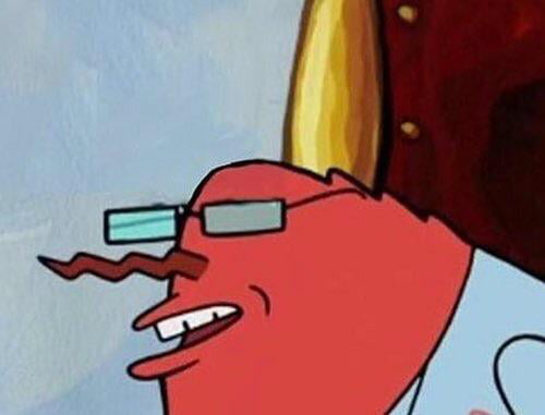 In Case You Guys Wanted To Know What Mr Krabs And Hannibal Burress
