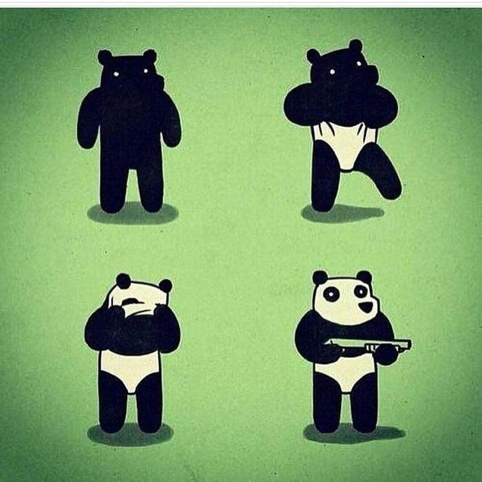 Thug Panda 9gag