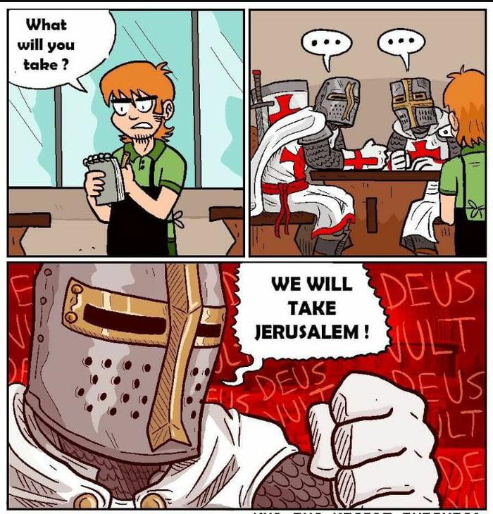 aDzOA7w_700b bring back crusade memes! deus vult! 9gag