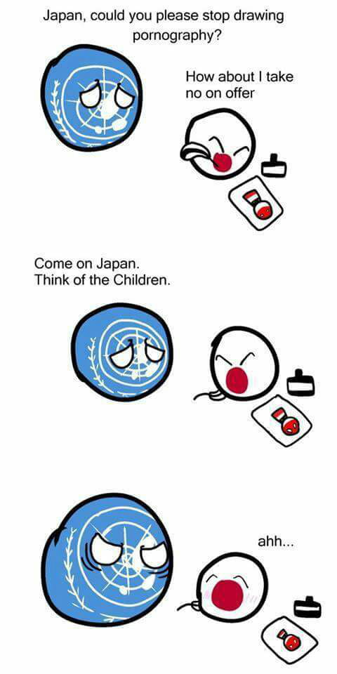 Think of the children Japan