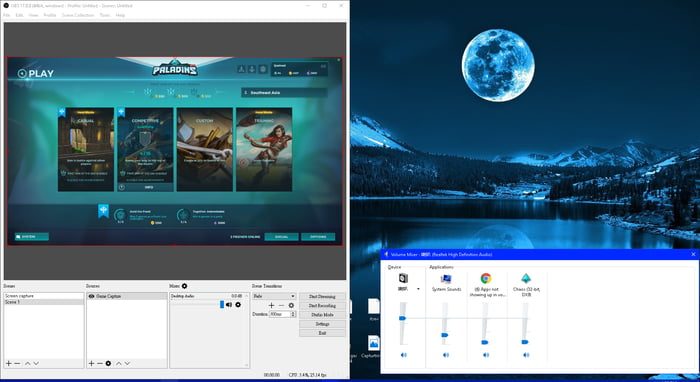 OBS is not appearing in volume mixer, help? - 9GAG
