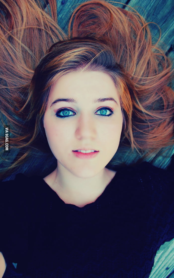firey red hair and electric blue eyes that stare into your. Black Bedroom Furniture Sets. Home Design Ideas