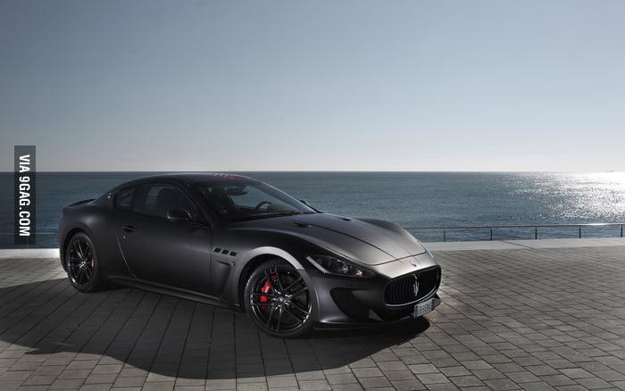 Maserati Granturismo Matte Black