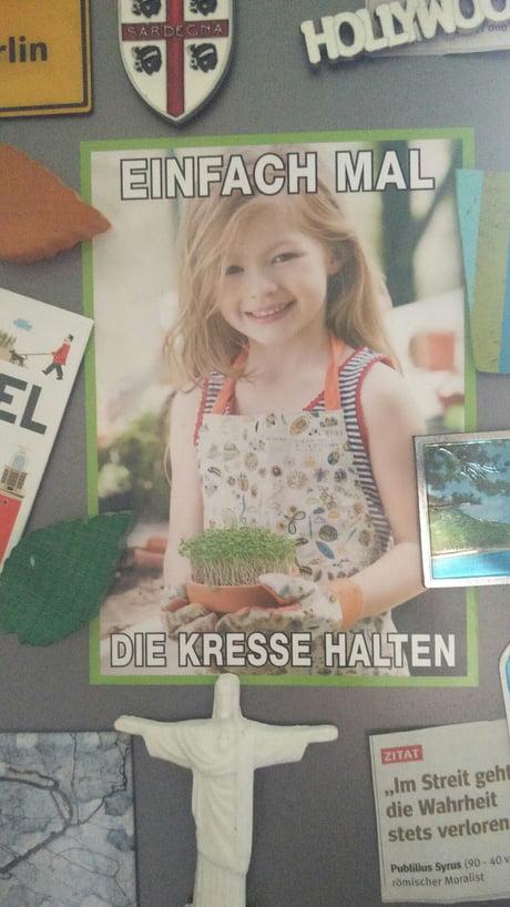 Best german meme spotted in my friends kitchen. - 9GAG