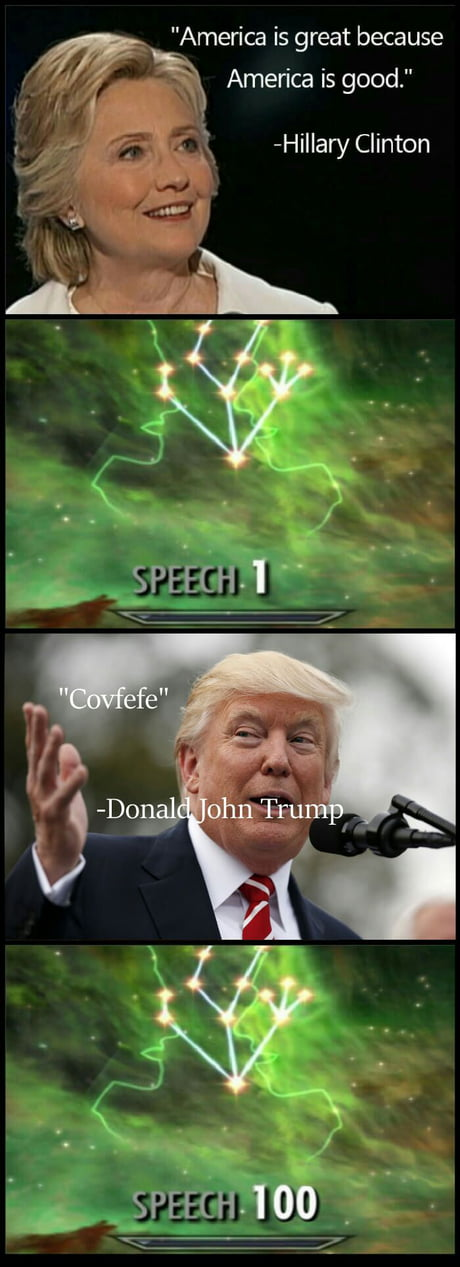 The reason why Donald Trump won the elections