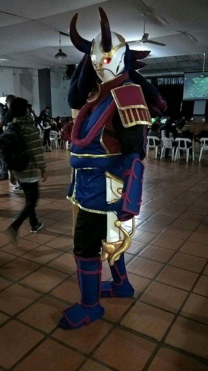 Blood Moon Jhin Cosplay By G Gules1 On Instagram 9gag