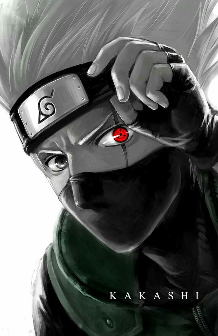 Kakashi sharingan eye wallpaper ;) - 9GAG
