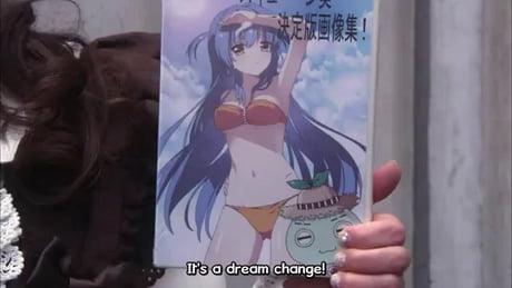 It's a dream change!